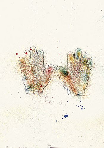 Jim Dine - Hands