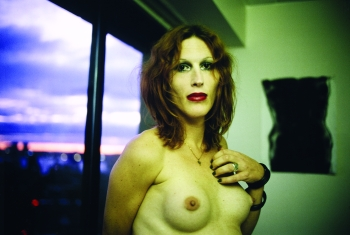 Nan Goldin - Chloe in the hospital, NYC
