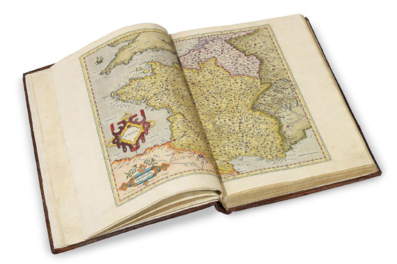Gerard Mercator - Atlas 1585. 3 Tle. in 1 Bd.