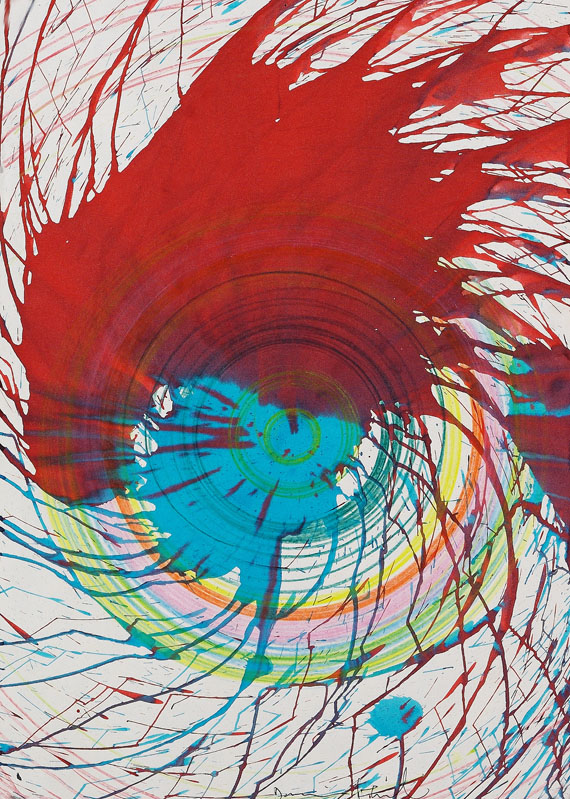 Damien Hirst - Untitled (Spin Painting)