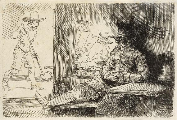 Harmensz. Rembrandt van Rijn - Der Kolfspieler (The Golf Player)