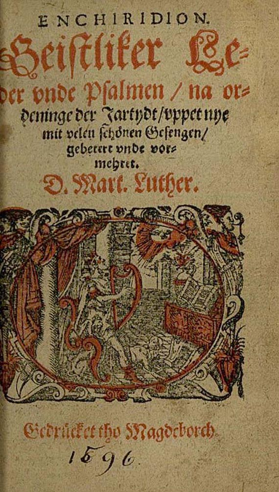 Martin Luther - Enchiridion. 1596