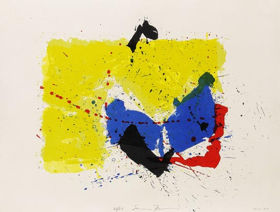 Sam Francis - Five Stone Untitled (SF-81)