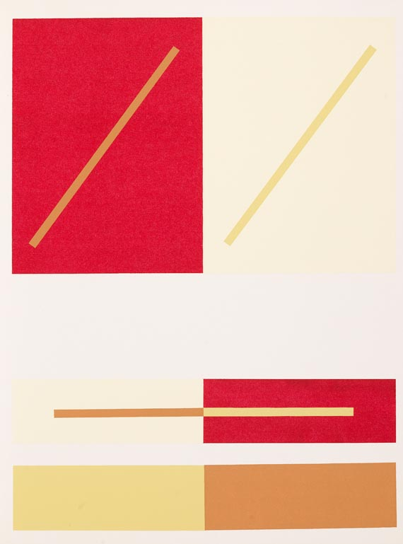 Josef Albers - Interaction of color,  1963 -
