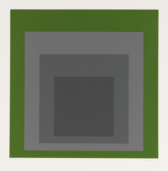 Josef Albers - SP (Hommage to the Square) -