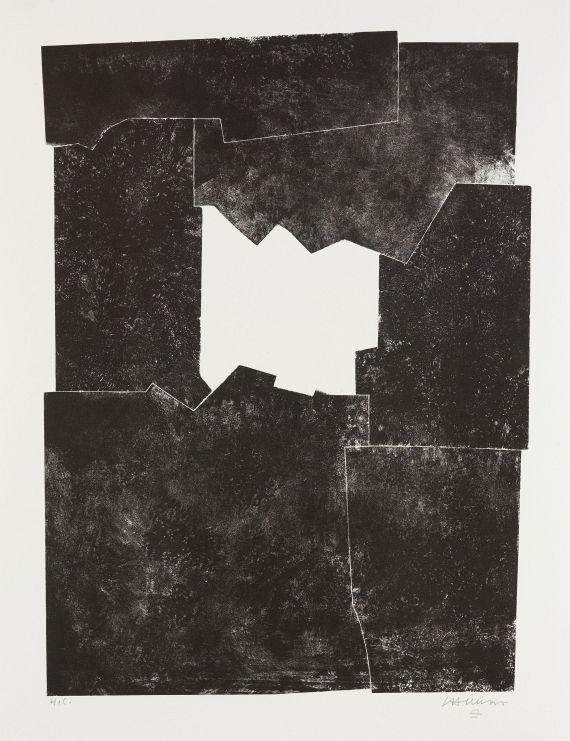 Eduardo Chillida - Komposition 1968