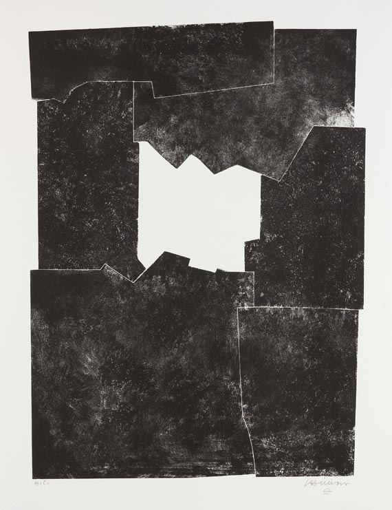 Eduardo Chillida - Komposition 1968 - Signature