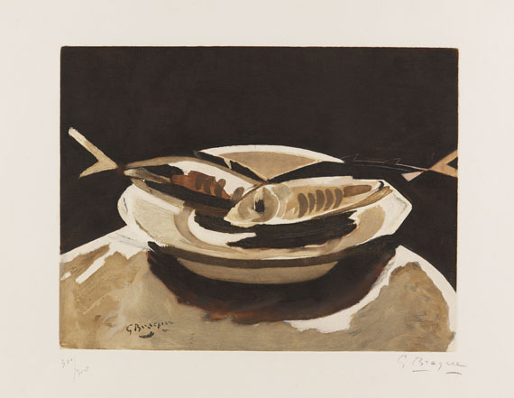 Georges Braque - Poissons