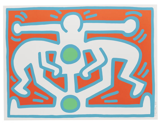 Keith Haring - Growing