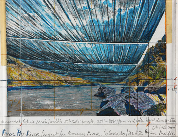 Christo und Jeanne-Claude - Over the river