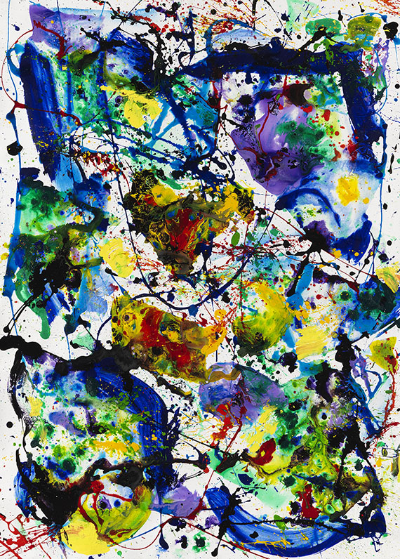 Sam Francis - Untitled (SF86-078)