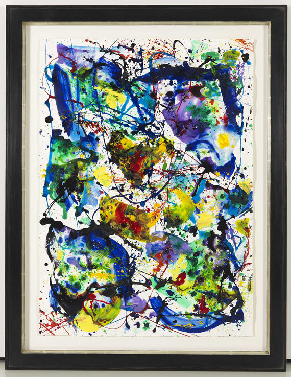 Sam Francis - Untitled (SF86-078) - Frame image
