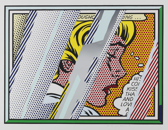 Roy Lichtenstein - Reflections on Girl