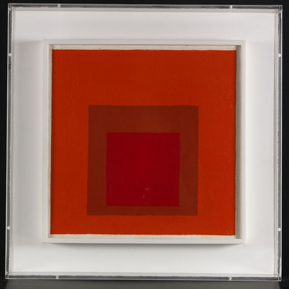 Josef Albers - Study for Homage to the Square - Frame image