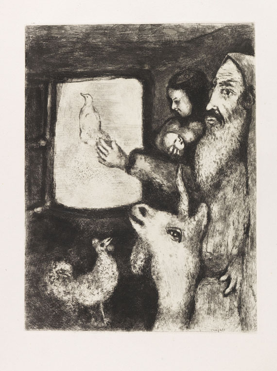 Marc Chagall - Bible. 2 Bde. -