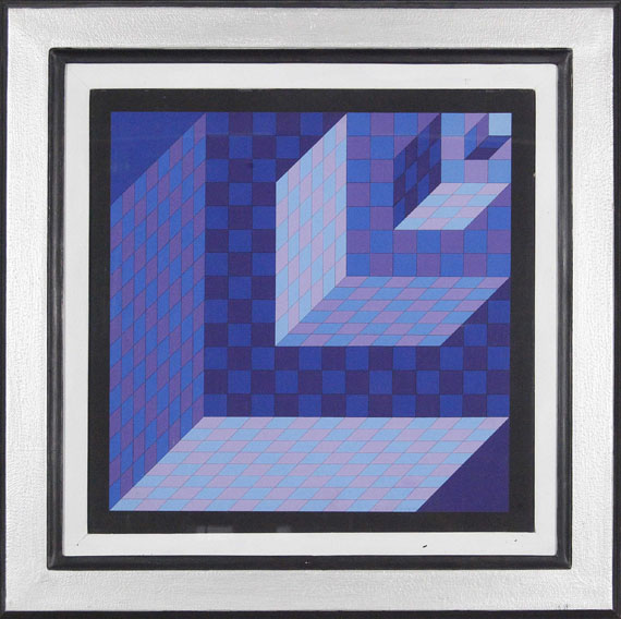 Victor Vasarely - AXO - NEW YORK - Frame image