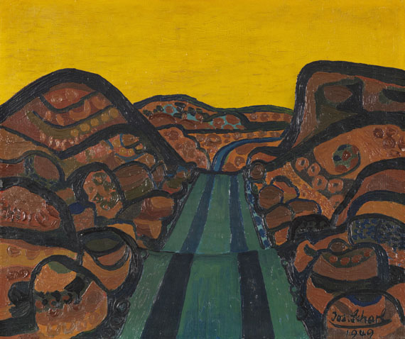 Josef Scharl - Bergstraße (Mountain Road)
