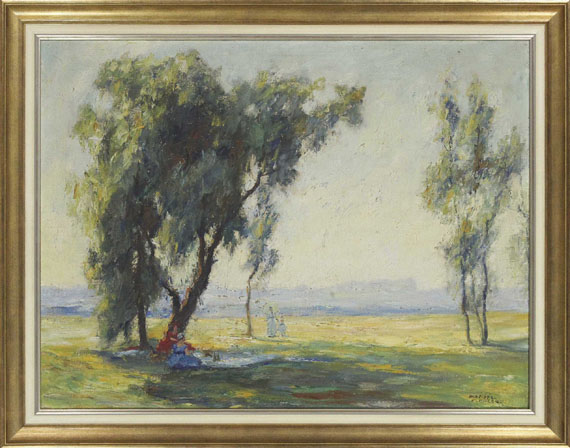 Otto Pippel - Ein Sommertag - Frame image