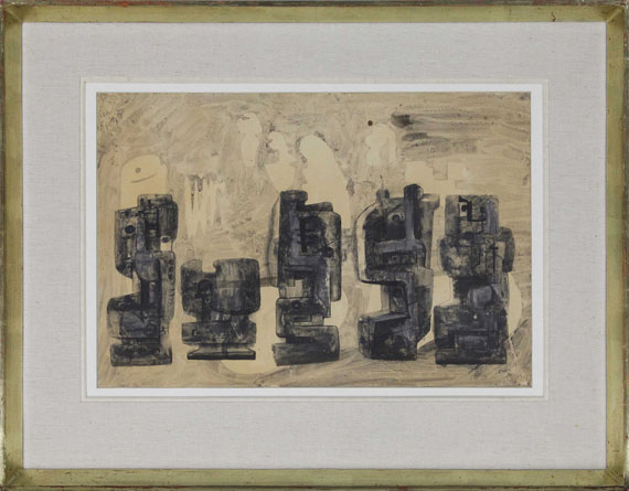 Henry Moore - Untitled (Drawing for sculpture) - Frame image