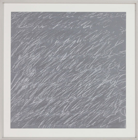 Cy Twombly - Ohne Titel - Frame image