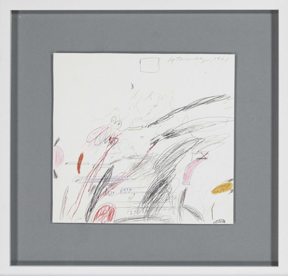 Cy Twombly - Untitled (Notes from a Tower) - Frame image