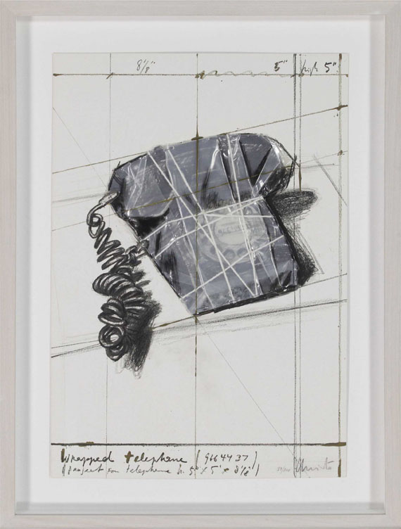 Christo - Wrapped Telephone, Project - Frame image
