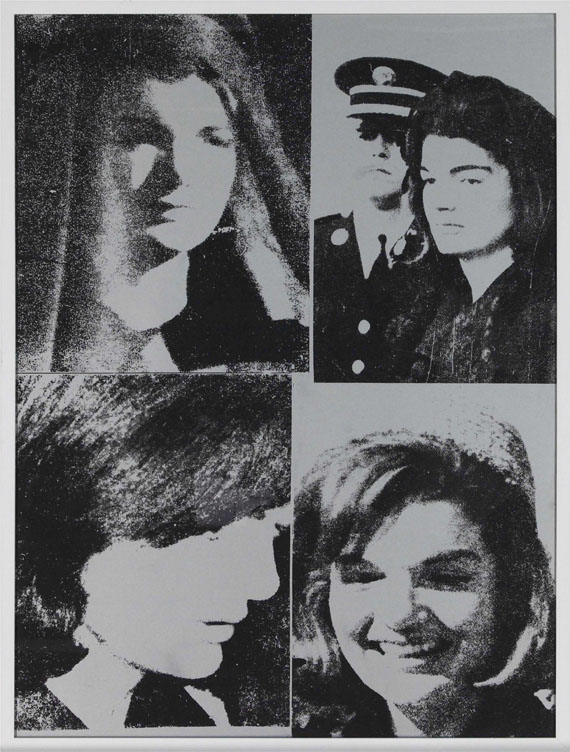 Andy Warhol - Jacqueline Kennedy III - Frame image