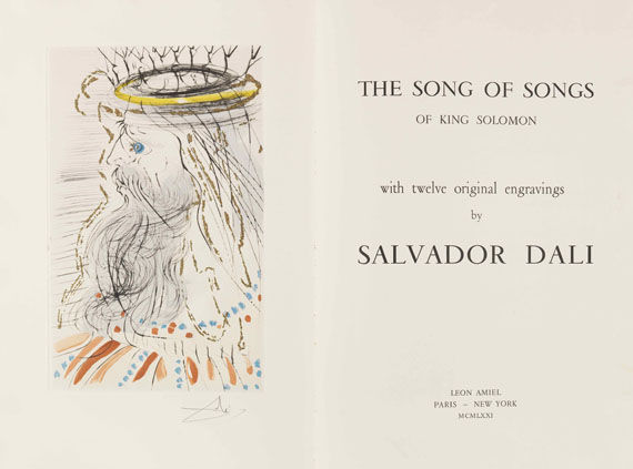 Salvador Dalí - The Song of Songs -