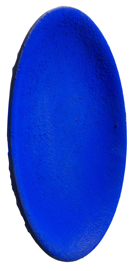 Yves Klein - Untitled Blue Plate (IKB 161) -