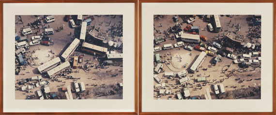 Andreas Gursky - Cairo, Diptychon -
