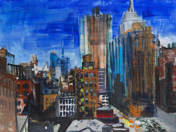 Rainer Fetting - 6 Ave Uptown View