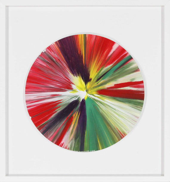 Damien Hirst - Spin Painting - Frame image